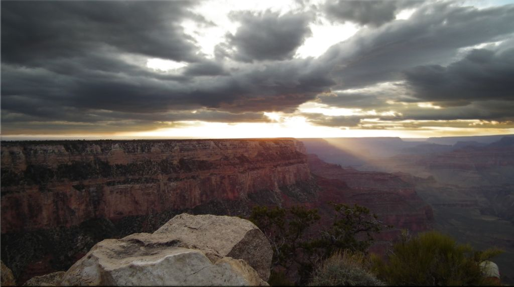 Sonnenuntergang am Grand Canyon