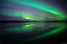 Aurora am Thingvallavatn