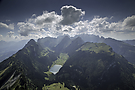 Alpstein in der Vogelperspektive