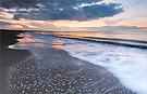Das Meer zeichnet, der Himmel mischt die Farben