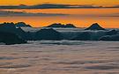 Abend über dem Karwendel