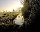 Raureifmorgen im Spreewald