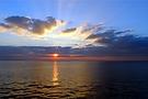 Novembermorgen am Mittelmeer