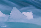 Eisiges Wasser