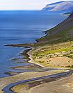 Küstenstreifen in Island
