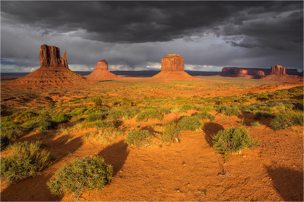 °°° Abends im Monument Valley °°°