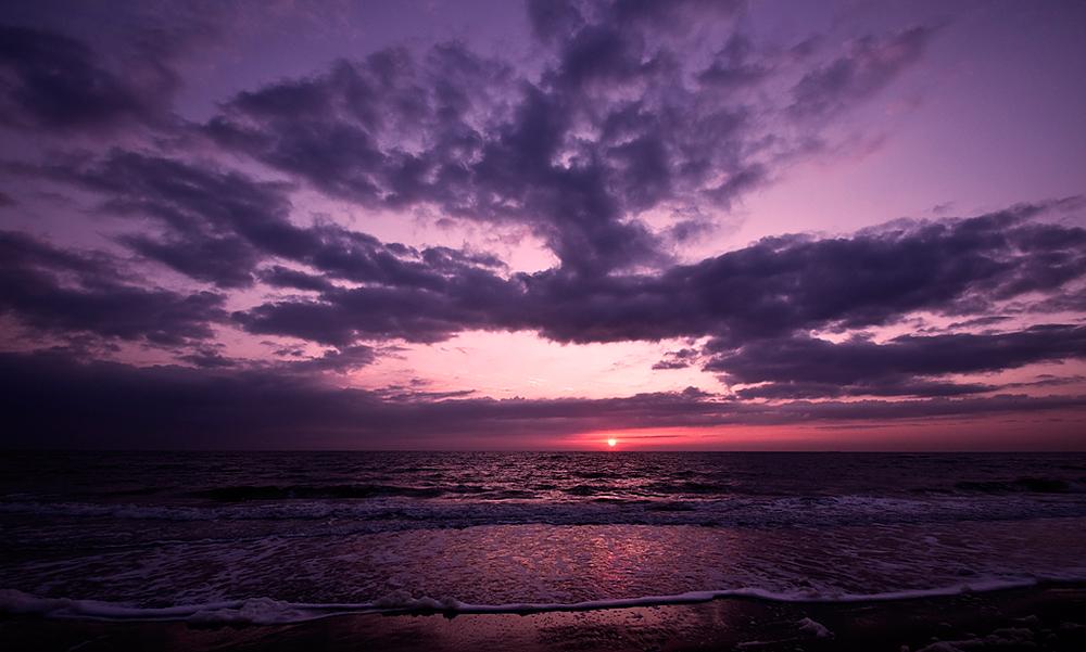 Strand nordsee sonnenuntergang  Sonnenuntergang an der Nordsee (Forum für Naturfotografen)