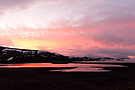 Sonnenaufgang in Island am letzten Tag des Jahres 2010